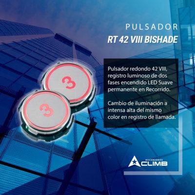 Pulsador RT 42 VIII BISHADE
