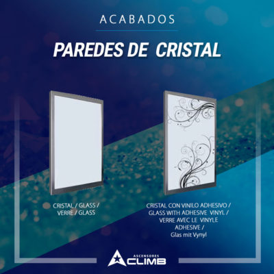Acabados paredes de cristal