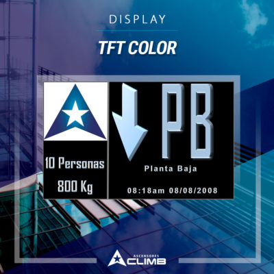Display TFT color