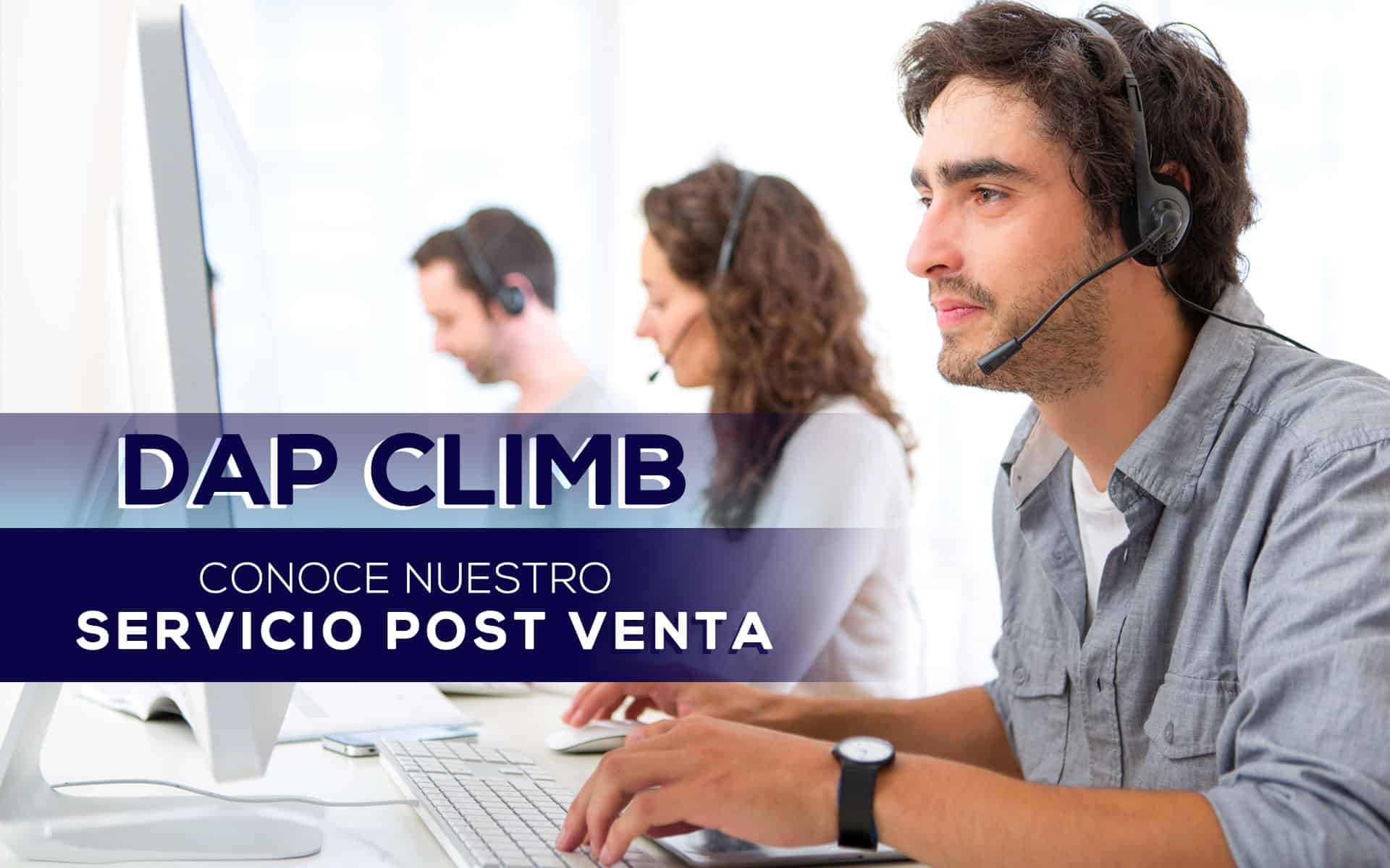 DAP CLIMB Servicio Post-venta